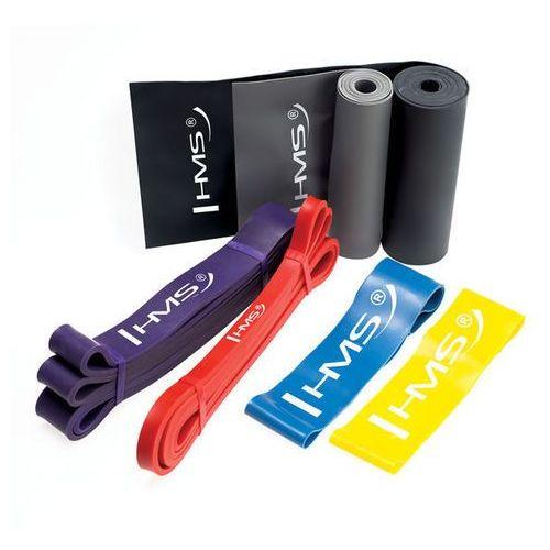 Hms zestaw gum treningowych do ćwiczeń mix set (5907695519440)