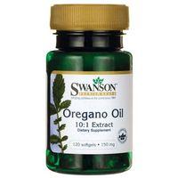 Swanson Olej z Oregano 10:1 Extract 150mg - (120 kap) (0087614110165)