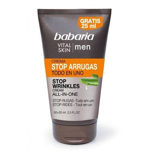 Babaria vital skin krem nawilżający przeciw zmarszczkom (stop wrinkles cream) 75 ml