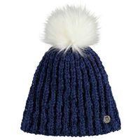 czapka zimowa BENCH - Turn Up Bobble Beanie Blue Depths (BL145)