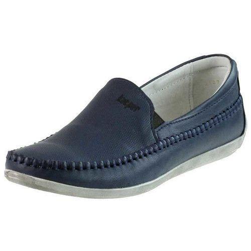 Mokasyny Kacper 2-3127 Niebieskie