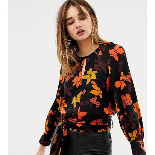 floral printed blouse - multi marki Mango
