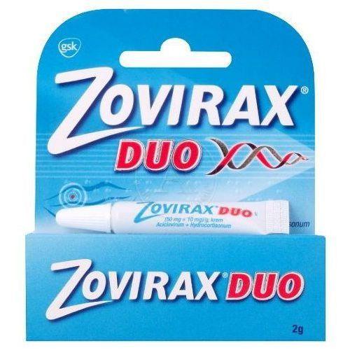Glaxosmithkline Zovirax duo krem 2g