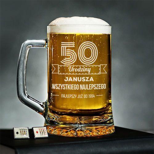 Wszystkiego najlepszego - personalizowany kufel - kufel do piwa Mygiftdna