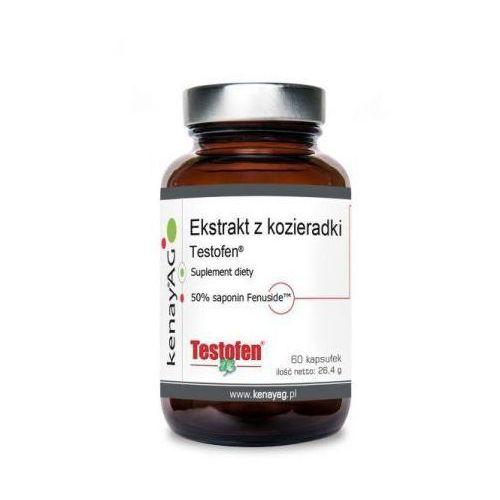 Testofen - Ekstrakt z Kozieradki 440 mg (60 kaps.) Gencor Pacific (5900672152876)