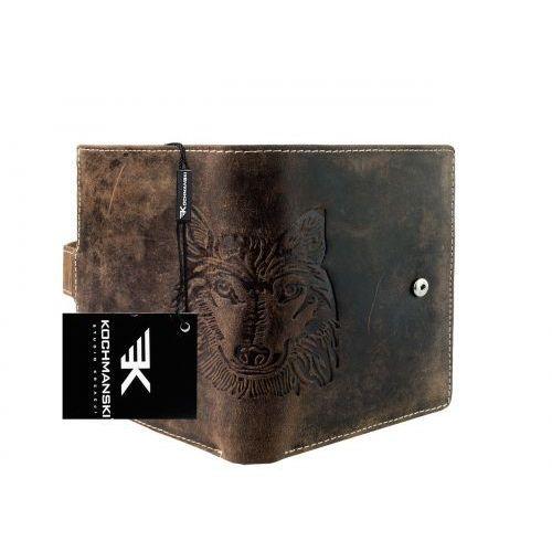 cd11132a6b856 Kochmanski studio kreacji® Skórzany portfel męski kochmanski 1133  (9999001038109)