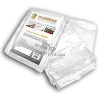 Plandeka okryciowa biała 6x10m (90g), PLW906/10