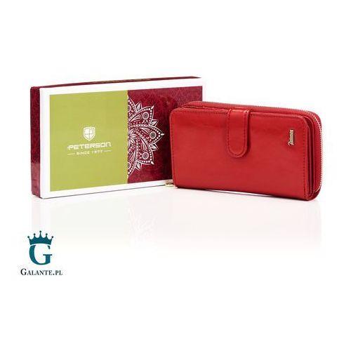 460a63e5248be2 ▷ Czerwony portfel damski skórzany pl603 (Peterson) - opinie / ceny ...