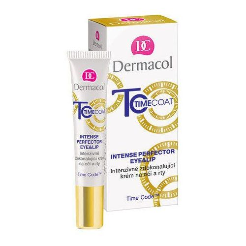 Dermacol Time Coat intenswny krem do oczu i ust (With Time Code, Hyaluronic Acid and Coenzym Q10) 15 ml