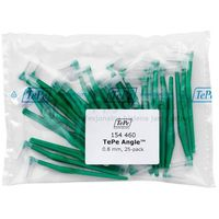 Tepe id angle (0.8mm) zielone 25szt. - zestaw szczoteczek międzyzębowych (szczoteczki w wersji angle)