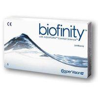 Biofinity with aquaform 6 sztuk wszystkie moce marki Coopervision - hydron