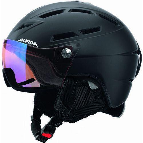 ALPINA GRIVA VISIER VHM - kask narciarski z szybą wizjer R. 55-59 cm