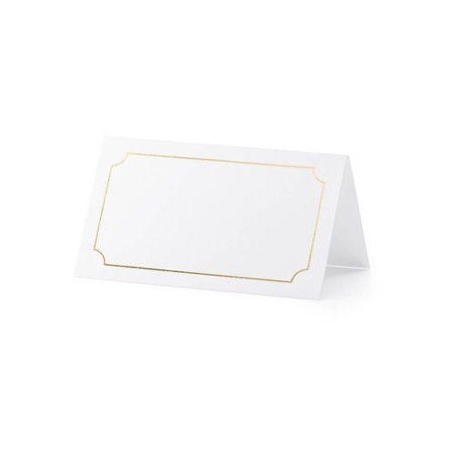 Wizytówki na stół Ramka - 9,5 x 5,5 cm - 10 szt. (5900779103870)