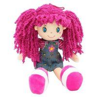 Lalka Basia różowe włosy 35 cm (5902002118477)