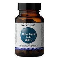 Kapsułki ALA - Kwas alfa liponowy 200 mg (30 kaps.) Viridian