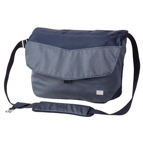 Jack wolfskin Torba - plecak na notebooka i tablet wool tech messenger dark sky - one size