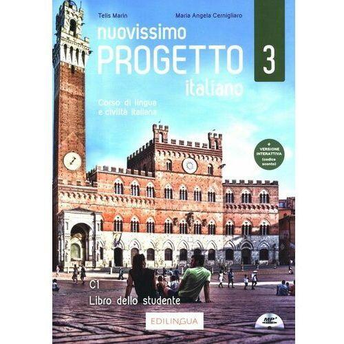 Nuovissimo progetto italiano 3 libro dello studente + cd - telis marin (216 str.)