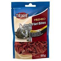 Trixie premio duck filets bites - filety z kaczki 50g [42716] (4011905427164)