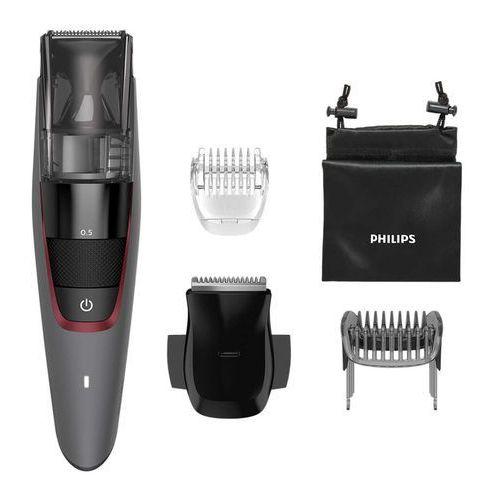 Philips Beardtrimmer series 7000 trymer z systemem zasysania ściętego zarostu
