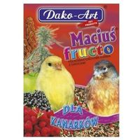 Dako art maciuś fructo 500g dla kanarka marki Dako-art