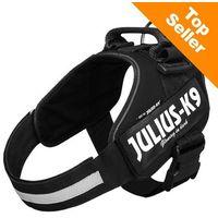 Julius-k9 Szelki dla psa idc® power black - rozm. 1 (5999053616557)