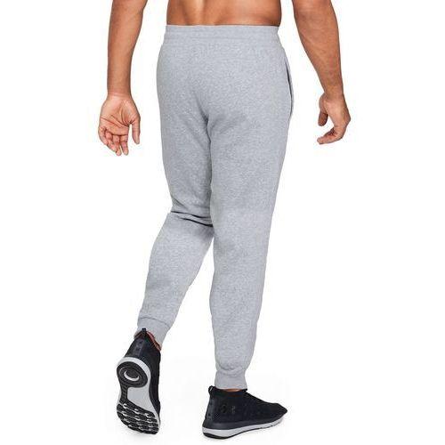 Under armour spodnie dresowe sportowe armour fleece jogger szare - szary