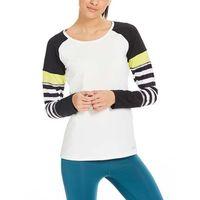 koszulka BENCH - Slim Longsleeve Bright White (WH11185) rozmiar: S