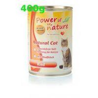 Power of Nature Wołowina 400g Rind Natural Cat bezzbożowa grain free, 5907222093535