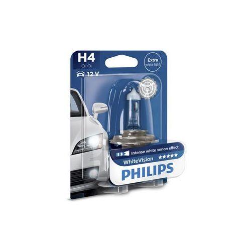 h4 whitevision 12v 60/55w p43t-38 marki Philips