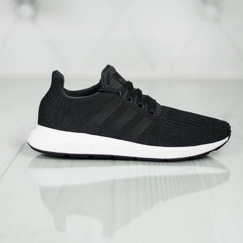 adidas Originals SWIFT RUN Tenisówki i Trampki carbon/core black/mid grey heather