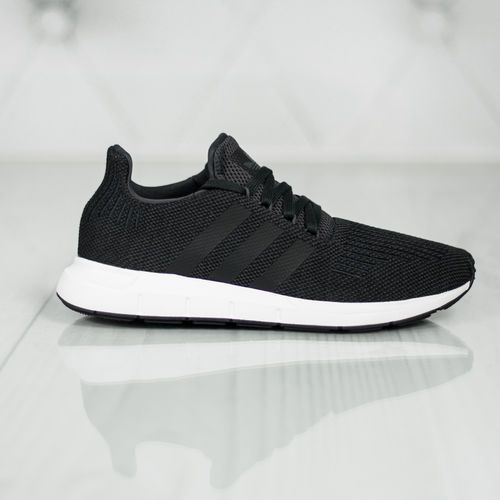 originals swift run tenisówki i trampki carbon/core black/mid grey heather marki Adidas