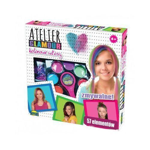 Dromader Atelier glamour kolorowe włosy