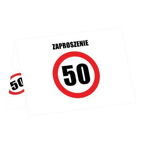 Zaproszenia Z Kopertą Na 50 Tke 6 Szt Congeepl
