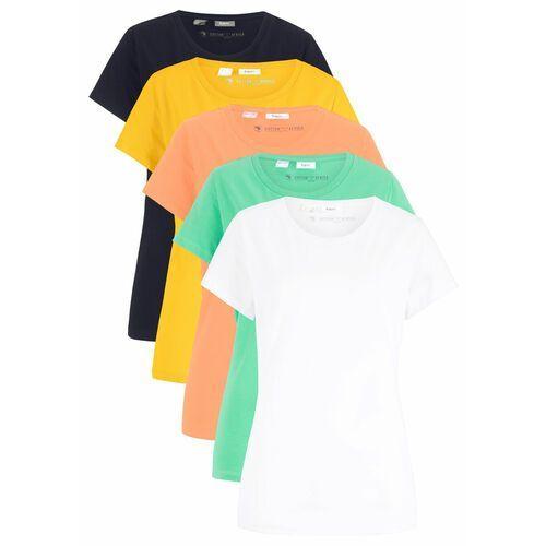 Bonprix Shirt indygo z nadrukiem