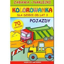 Praca zbiorowa Pojazdy, kolorowanka dla dzieci od lat 3 - beata guzowska