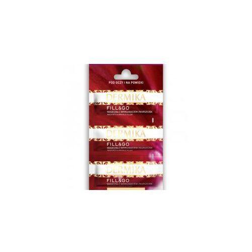 Dermika Maseczki Piękności - FILL&GO - Przeciwzmarszczkowa maseczka pod oczy i na powieki 3 x 2 ml - Dermika Sp.z o.o., 6337019
