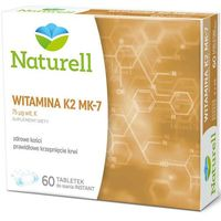 Witamina K2 MK-7 x 60 tabletek do ssania