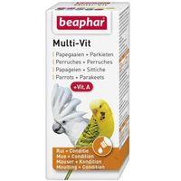 bogena multi-vit parrots & parakeets - preparat witaminowy dla papug 20ml marki Beaphar