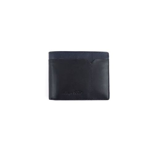 c689027d2893a Skórzany męski portfel 324-fs czarny   niebieski marki Always wild