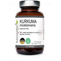 Kapsułki Kurkuma micelizowana 800 mg (60 kaps.) Aquanova AG