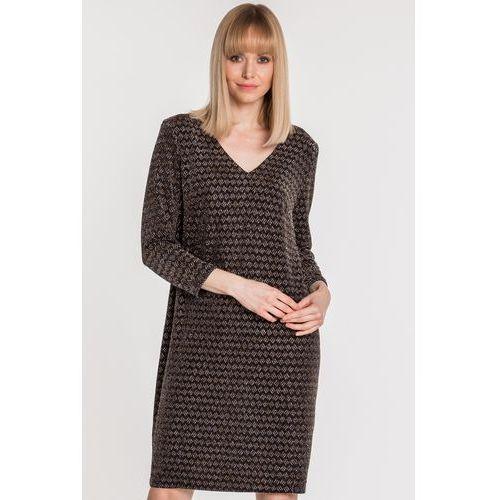 905e76cc6e Zobacz ofertę Luźna sukienka z wiązaniem na plecach - Vito Vergelis