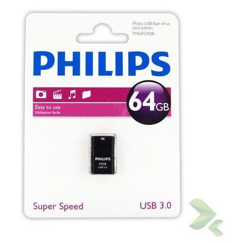 pendrive usb 3.0 64gb - pico edition - szybka wysyłka - 100% zadowolenia. sprawdź już dziś! marki Philips