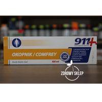 911 żel balsam do ciała OKOPNIK z żywokostem na bóle stawów 100ml
