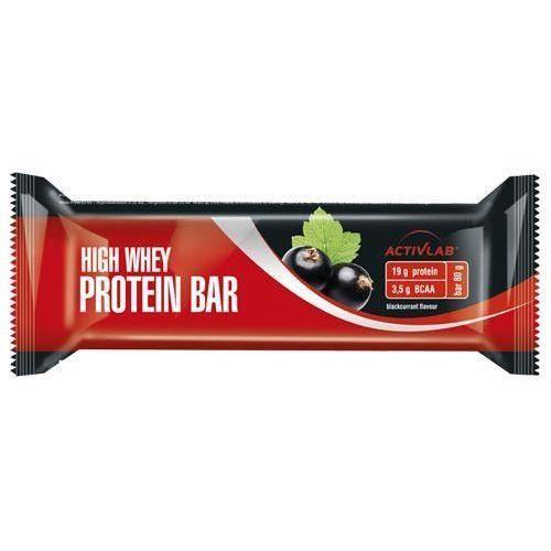 Activlab baton high whey active protein bar - 80g - blackcurrant