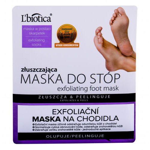L´biotica foot mask exfoliating pielęgnacja stóp 1 szt dla kobiet - Super rabat