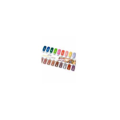 Wzornik do lakierów Semilac z kolekcji Sweets & Love