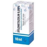Krople XYLOMETAZOLIN 0,05% krople 10ml