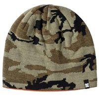 czapka zimowa DC - Rally Beanie Black/Green/Grey (XKGS)