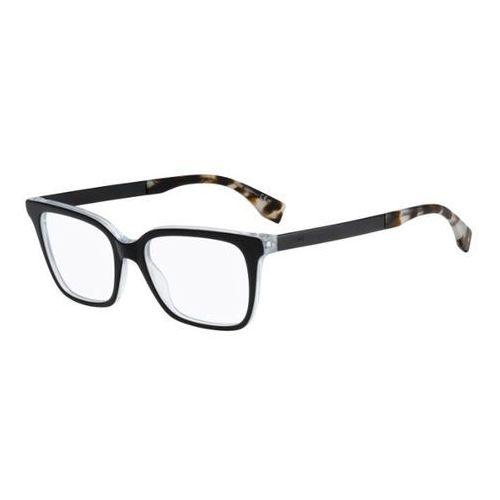 Fendi Okulary korekcyjne ff 0077 fendi logo du0