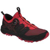 Asics buty męskie Gel-Fujirado czarno-czerwone 45